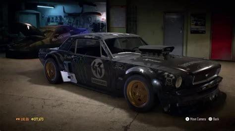 hoonigan mustang engine need for speed 2015 ken block s ford mustang 1965