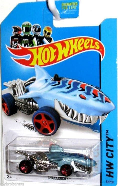 Hw Lightblue sharkcruiser wheels 2014 hw city 52 250 light blue
