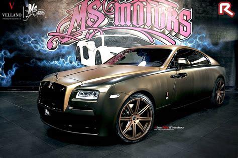 choco gold choco gold rolls royce wraith by ms motors gtspirit