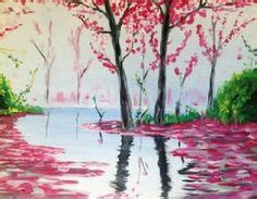 paint nite vacaville paint nite pittsburgh cherry blossom at mitchell