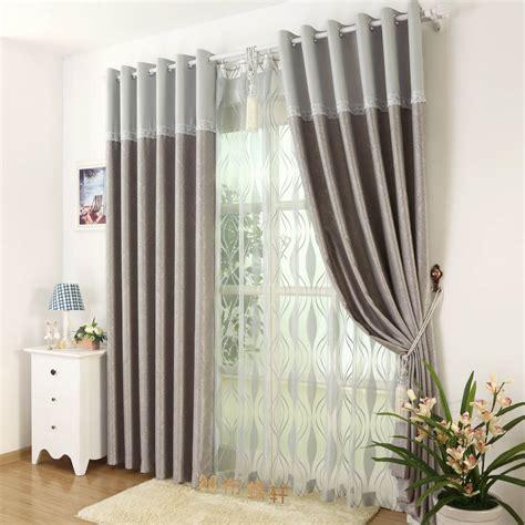 living room divider curtain curtain living room full blackout suede blind elegant