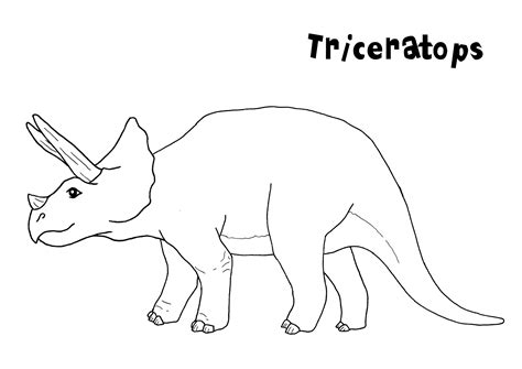 free dinosaur coloring pages preschool free printable triceratops coloring pages for kids