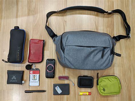 peek design peak design everyday sling 5l bag review the gadgeteer