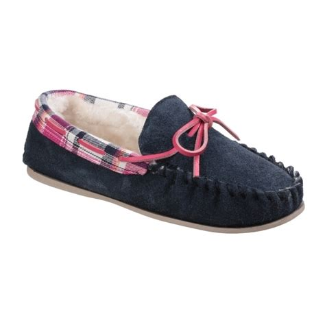 navy moccasin slippers cotswold kilkenny suede moccasin slippers navy