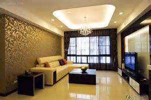 Living room luxury modern style design effect drawing