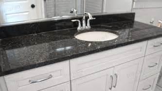 Essex Vanity With Black Granite Countertop India Black Pearl Granite Countertops Countertop Island