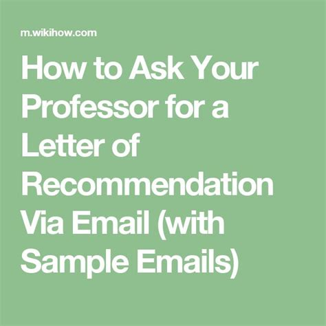 Letter Of Recommendation Via Email 25 best ideas about college recommendation letter on
