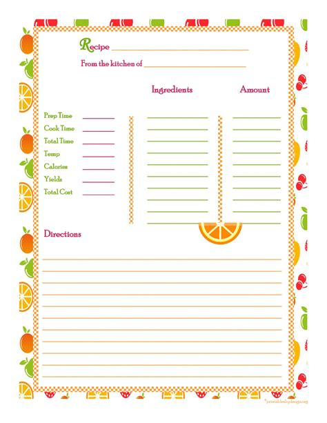 recipe card template for mac recipe book template apple pages besto