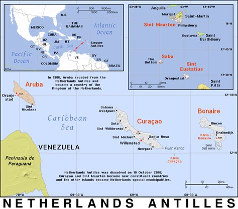 netherlands antilles map an 183 netherlands antilles 183 domain maps by pat the