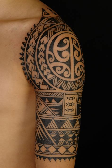 nice tattoo design 57 fantastic maori shoulder tattoos