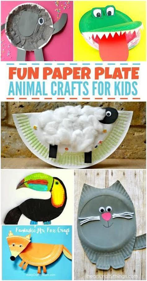 Paper Plate Craft Book - 205 best paper plate crafts images on paper