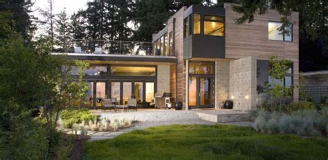house architecture most beautiful and eco friendly of ellis residence par coates design seattle usa leed