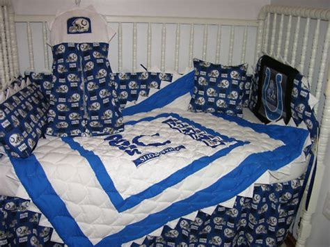 colts crib bedding 18 best images about sports theme baby shower on
