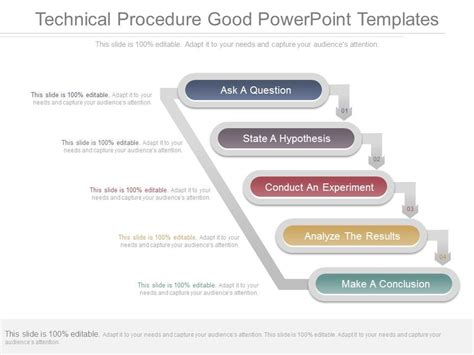 technical procedure good powerpoint templates powerpoint