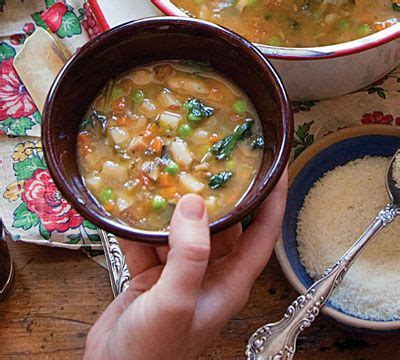 recipe chef lidia bastianich s minestrone 17 best images about soup on pinterest homemade bacon