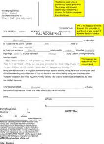 deed of conveyance template deed of reconveyance form free premium