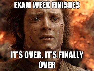 Finals Week Meme - finals week an explanation through memes 171 life in isu honors