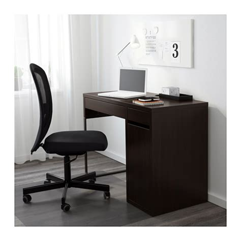 Micke Computer Desk Micke Desk Black Brown Ikea