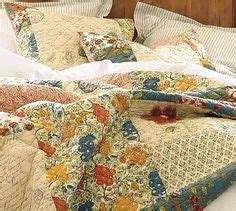 Pottery Barn Scalloped Organic Patchwork Quilt - scalloped organic patchwork quilt sham patchwork and quilt
