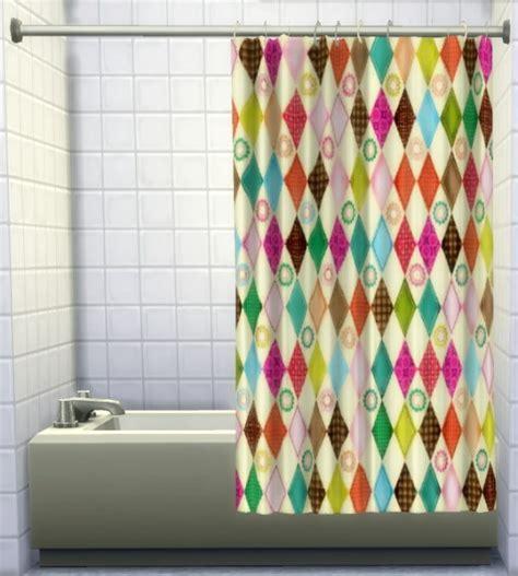 Bath Tub Shower Curtain shower tub curtains by oldbox at all 4 sims 187 sims 4 updates