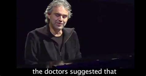 Andrea Bocelli Blind Biography andrea bocelli quotes quotesgram