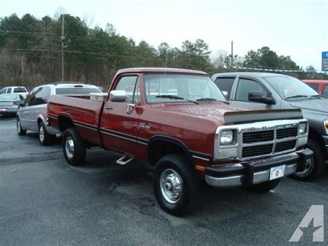 w250 dodge for sale 1991 93 dodge diesel 4x4 for sale autos post