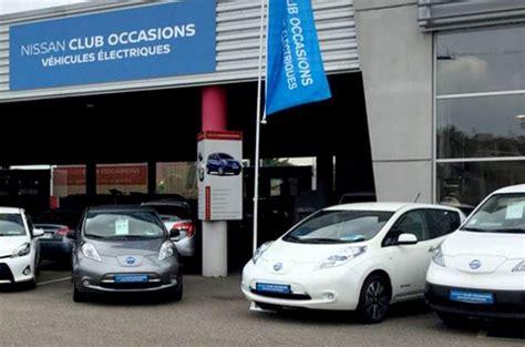 voiture electrique nissan lance son label pour dynamiser loccasion