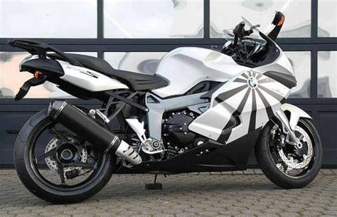 Motorrad Auspuff Test Bmw K 1200 S by Schnitzer Auspuff Bmw K1300s