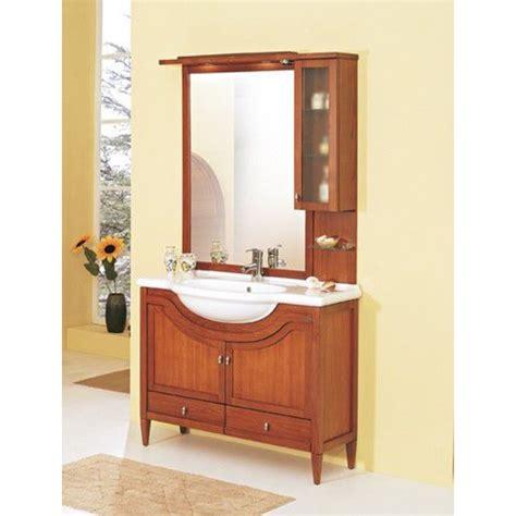 mobili da bagno con lavabo mobile bagno con lavabo 150x50 cm finto ciliegio san marco