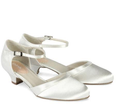 Schuhe Ivory Flach by Flache Brautschuhe Aus Spitze Mit Schleifchen Ivory