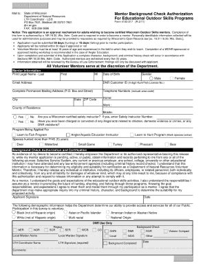 Wis Background Check Background Check Form Wisconsin Fill Printable Fillable Blank Pdffiller