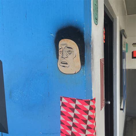 barry mcgee installation  moscone center garage