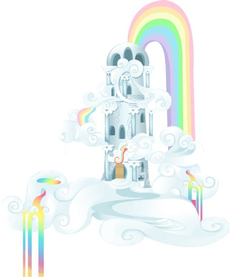 rainbow dash house rainbow dash cloudhouse by tinuleaf on deviantart