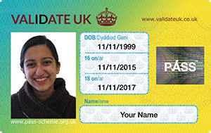 id card template uk official uk id card photo id proof of age card