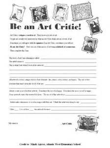 art worksheets on pinterest art critique color wheel