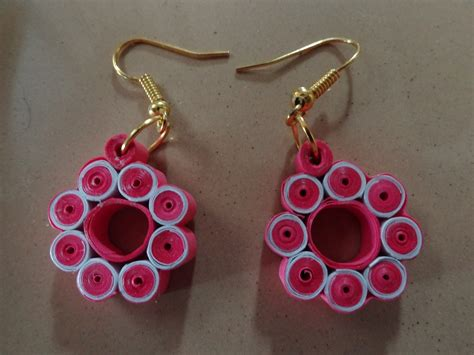 Jewellery With Quilling Paper - quilling creativity corner