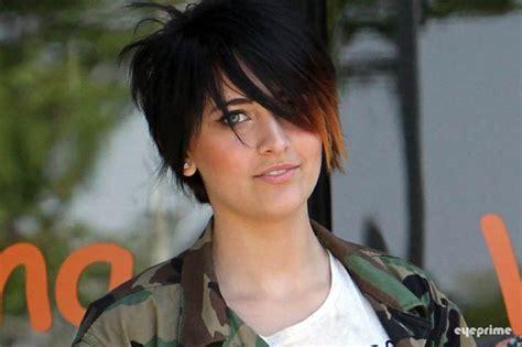 what hair style did paris jackson cut her hair paris jackson haircut photo paris jackson in palmdale