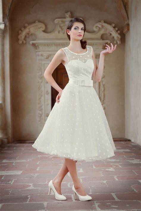 Brautkleider Rockabilly by Rockabilly Hochzeitskleid Mit Punkten Kleiderfreuden