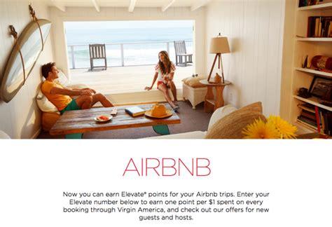 airbnb qantas points virgin america airbnb offers airbnb credit bonus elevate