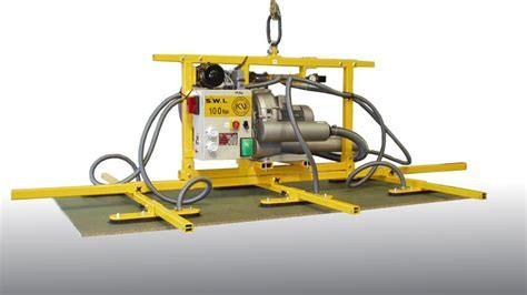 Vacuum Lifters for Panels, Wood Boards & Cladding.