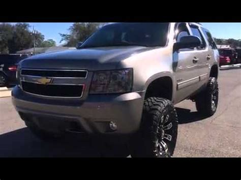 2012 chevy tahoe lifted suv for sale in pensacola youtube