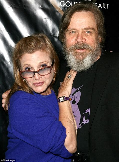 anthony daniels agent star wars carrie fisher bumps into mark hamill as they