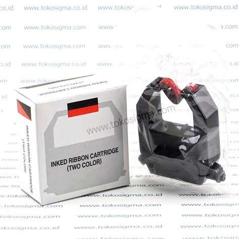 Cp Pita Hitam Gw pita printer absensi amano 3000 inked ribbon cartridge two color toko sigma