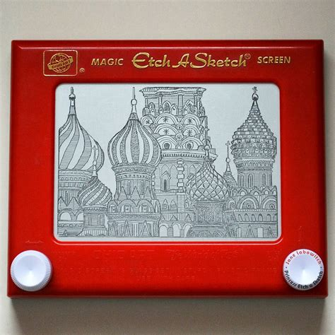 Etch A Sketches by Etch A Sketch This S Work Is Mind Blowing