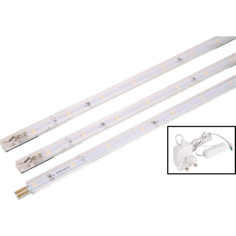 Led Strip Light 3w 160lm 3 X 250mm Kit Toolstation Led Light Strips Uk