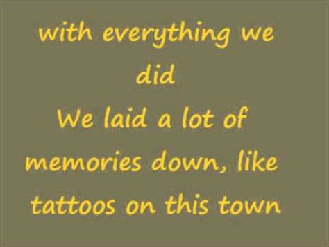 tattoos on this town lyrics tattoos on this town jason aldean lyrics