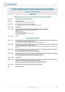 share final meeting agenda