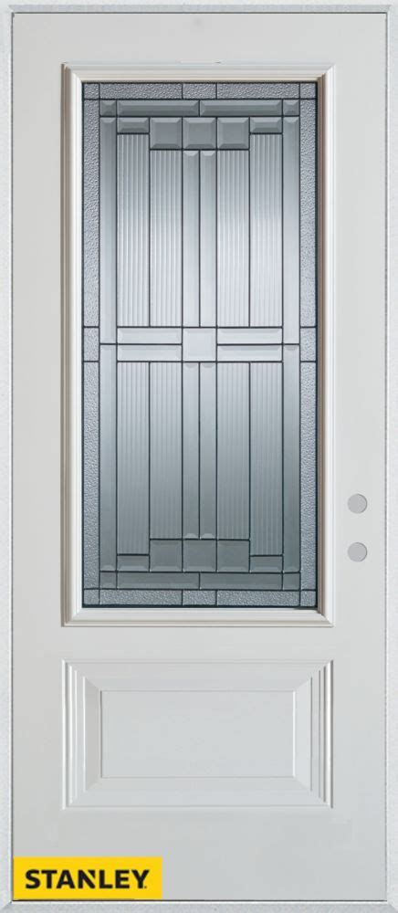 32 Inch Entry Door by Stanley Doors 32 Inch X 80 Inch Architectural Patina 3 4