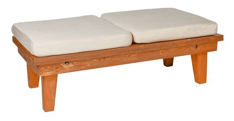 2 x 4 bench bright event rentals calistoga bench with 2 cushions 2