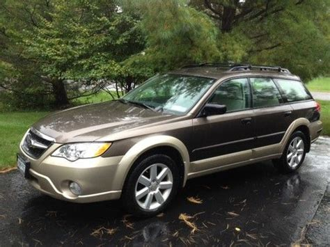 2008 subaru outback wagon buy used 2008 subaru outback 2 5i wagon 4 door 2 5l only